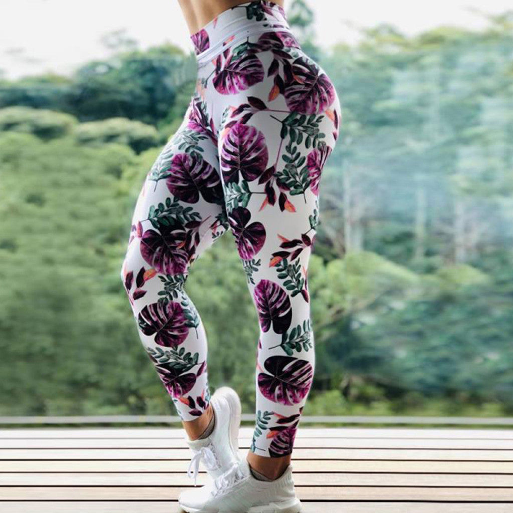 Leaves Overload Leggings