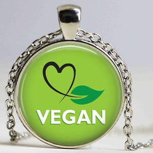 Heart Vegan Necklace