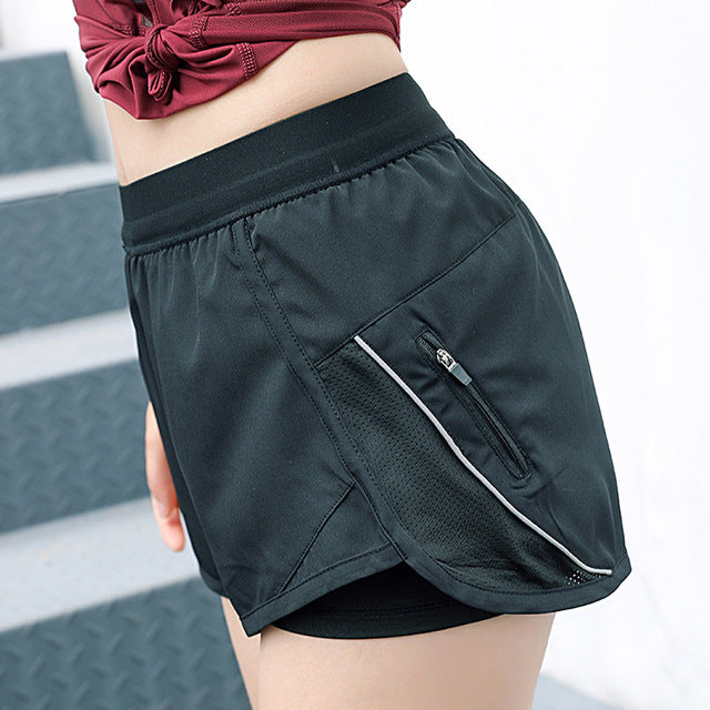 Side Zipper Shorts