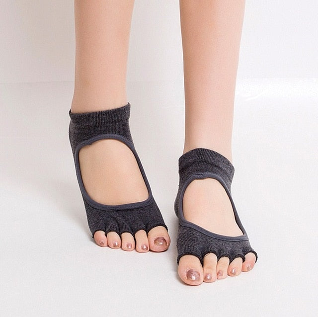 Open Toe Anti-Slip Socks