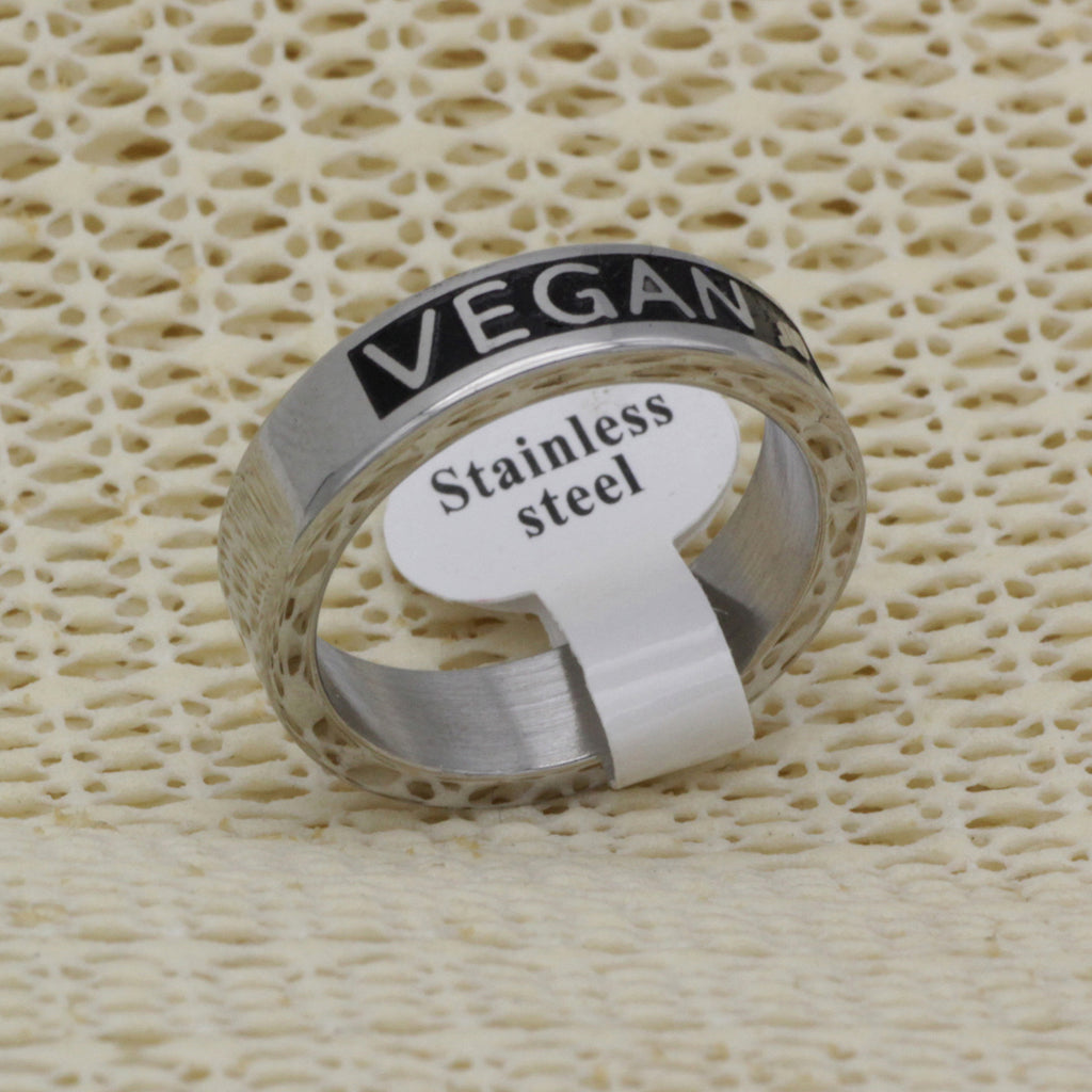 Vegan Leaf Ring