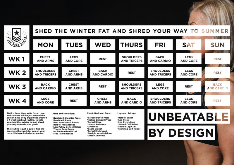 Shed The Winter Fat And Shred Your Way To Summer