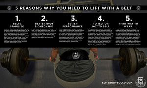 5 Reasons Why You Should Lift With A Weightlifting Belt