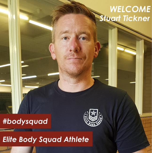 Stuart Tickner - Elite Body Squad Athlete