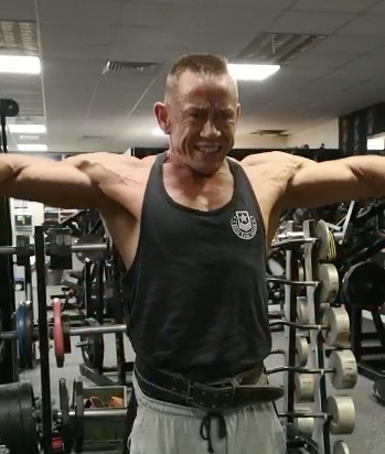 Perfect Lateral Raises Performed By Anthony Larson...