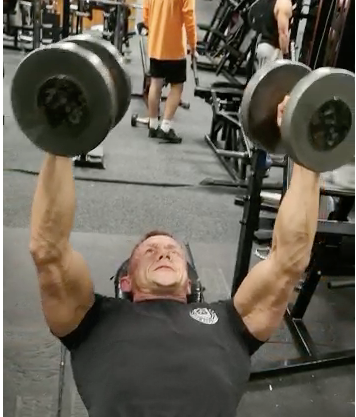 Incline Dumbbell Flyes Is A Great Way To Finish A Chest Routine...