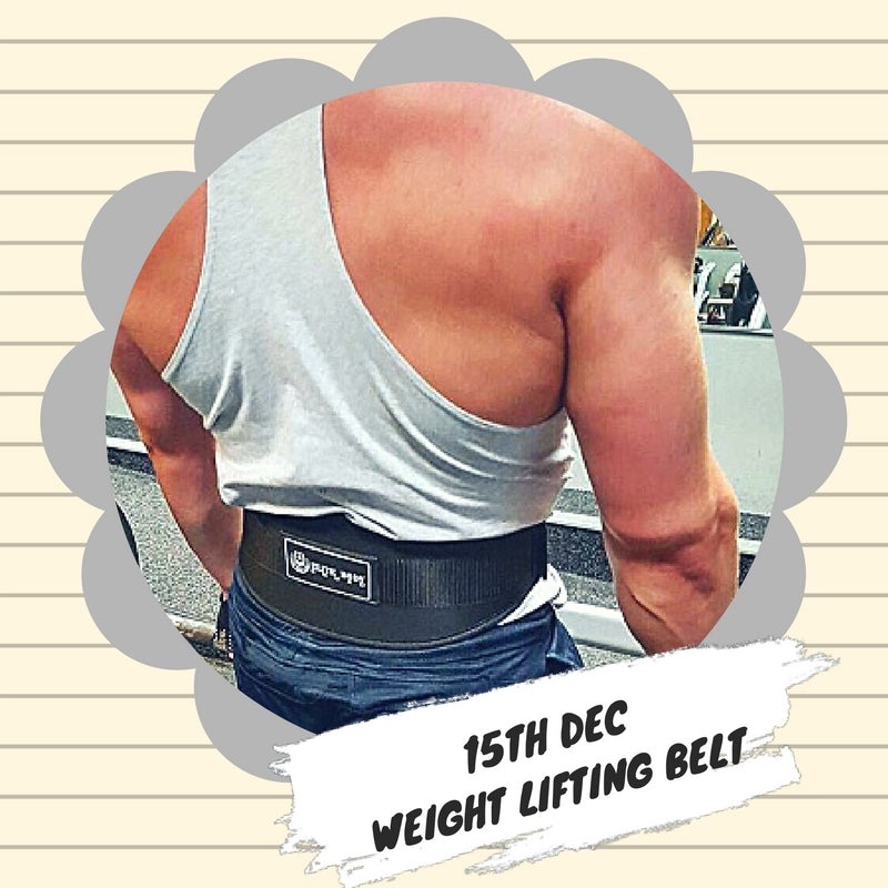 Advent 15th December - Weight Lifting Belt