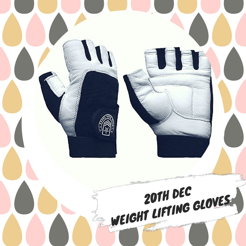 Advent 20th December - Weight Lifting Gloves