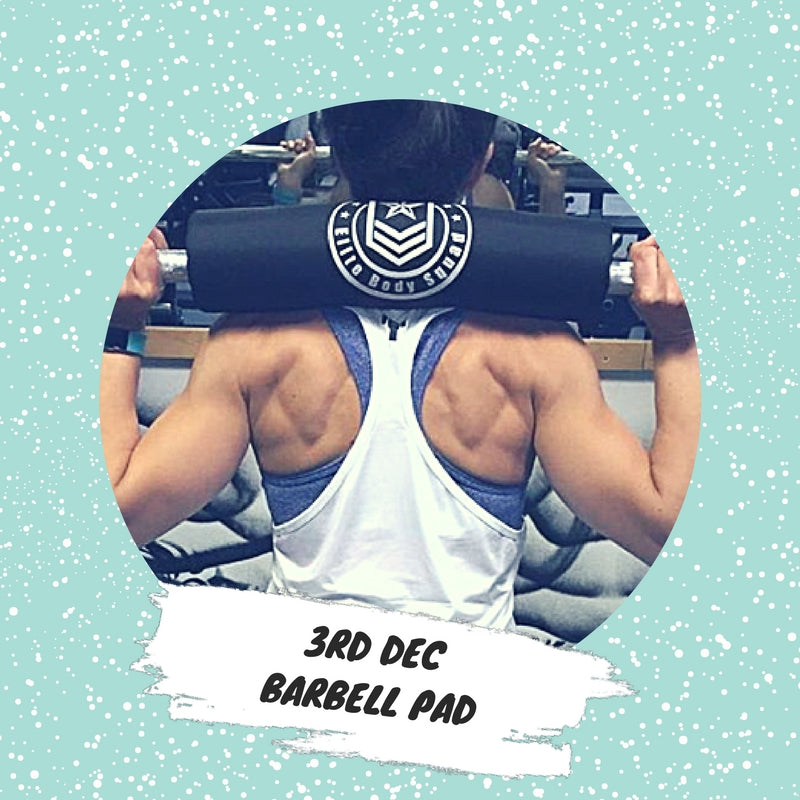 Advent 3rd December - Barbell Pad
