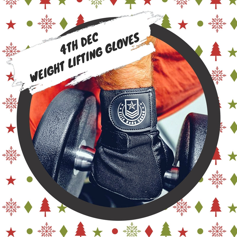 Advent 4th December - Weight Lifting Gloves