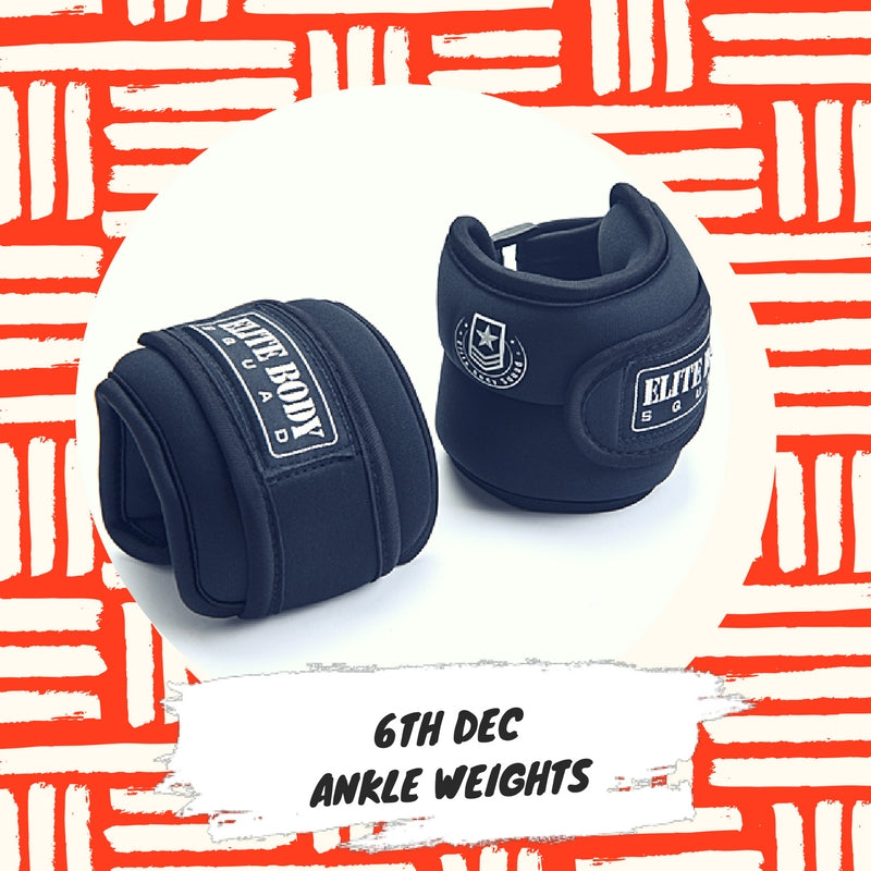 Advent 6th December - Ankle Weights