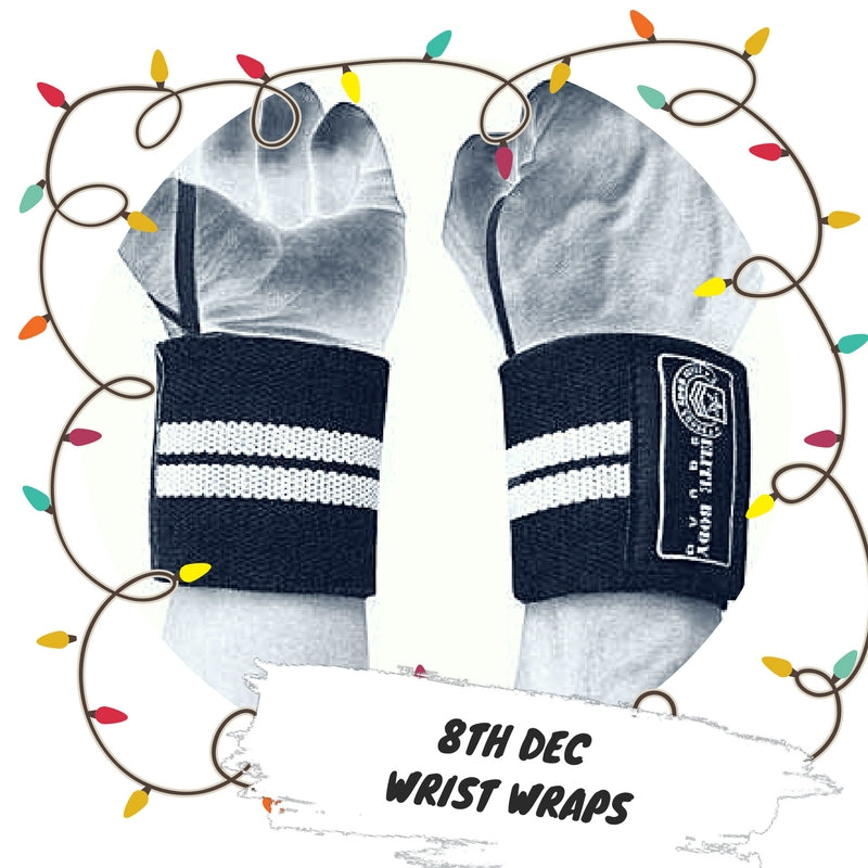 Advent 8th December - Wrist Wraps
