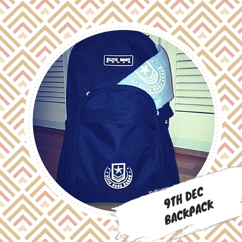 Advent 9th December - Backpack