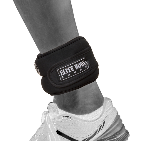 Elite Body Squad Ankle Weights Pro Quality Adjustable Leg Weights 1kg x 2 On