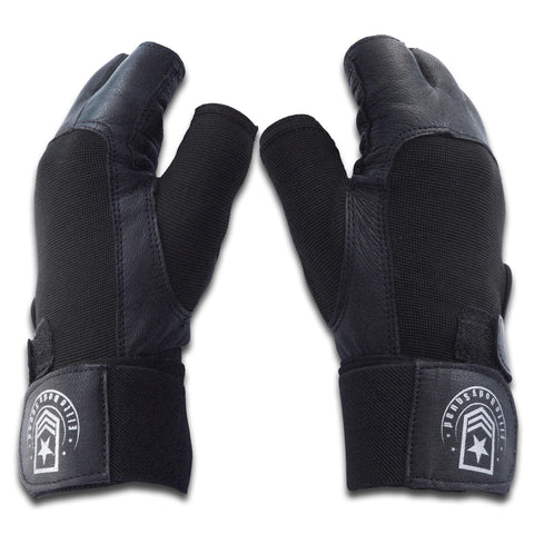 Black Weight Lifting Gloves