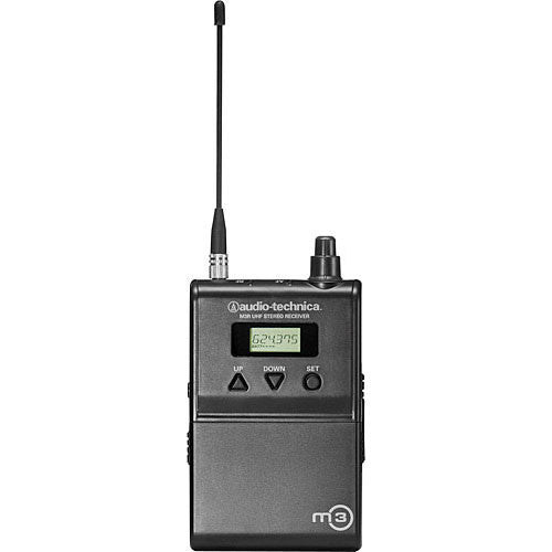 Audio-Technica M3R Wireless In-Ear Monitoring Receiver (Band L: 575.000 to 608.000 MHz)