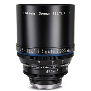 Zeiss Compact Prime CP.2 135mm/T2.1 Interchangeable Mount Lens