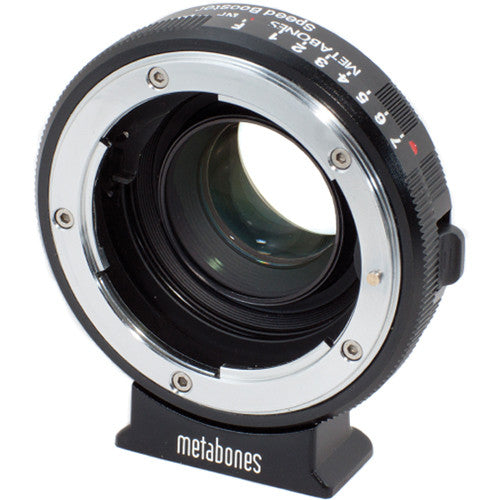 Metabones Nikon G Lens to Blackmagic Pocket Cinema Camera Speed Booster
