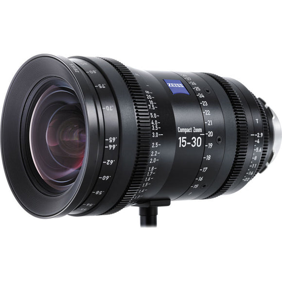 Zeiss 15 - 30 mm T2.9 CZ.2 Compact Zoom Lens, PL Mount - Metric Scale