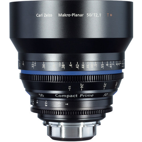 Zeiss Compact Prime CP.2 50mm/T2.1 Makro Cine Interchangeable Mount Lens