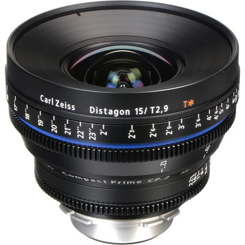 Zeiss Compact Prime CP.2 15mm / T2.9 Interchangeable Mount Lens