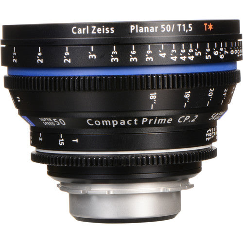 Zeiss Compact Prime CP.2 50mm/T1.5 Super Speed Interchangeable Mount Lens