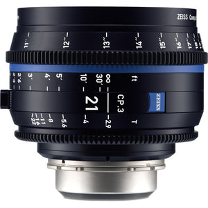 Zeiss CP.3 21mm T2.9 Compact Prime Interchangeable Mount Lens
