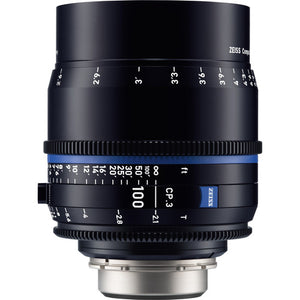 Zeiss CP.3 100mm T2.1 Compact Prime Interchangeable Mount Lens