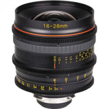 Tokina Cinema 16-28mm T3.0 Wide Angle Zoom Lens (PL, E & EF Mounts)