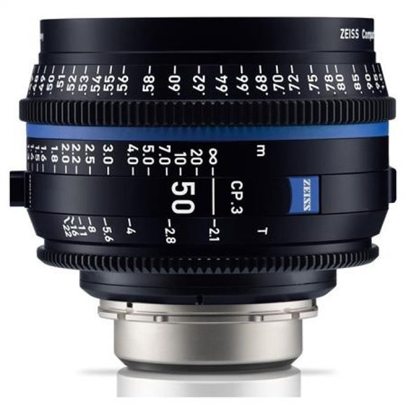 Zeiss CP.3 50mm T2.1 Compact Prime Interchangeable Mount Lens