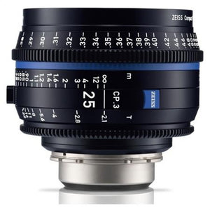 Zeiss CP.3 25mm T2.1 Compact Prime Interchangeable Mount Lens