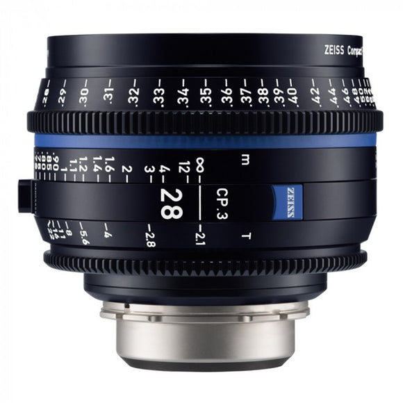 Zeiss CP.3 28mm T2.1 Compact Prime Interchangeable Mount Lens