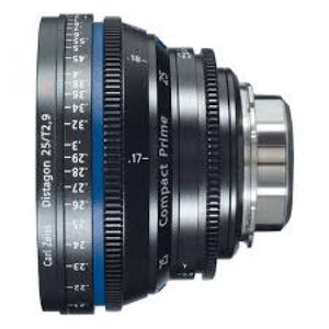 Zeiss Compact Prime CP.1 25mm/T 2.9 PL Mount (Feet)