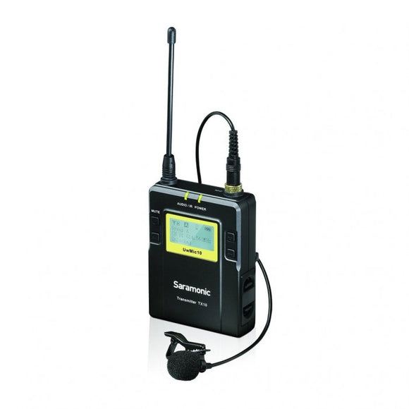 SARAMONIC UWMIC 10 TX10 UHF WIRELESS LAV MICROPHONE TRANSMITTER
