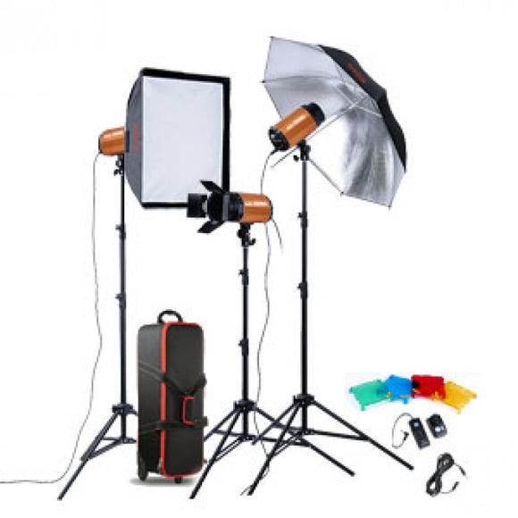 Godox Smart Studio Kit With 3 Heads