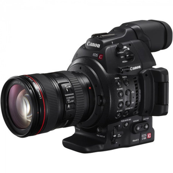 Canon Video EOS C100 Mark II 24-105 BK