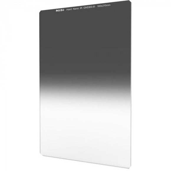 NiSi 180 x 210mm Nano Hard-Edge Graduated IRND 0.9 Filter (3-Stop)
