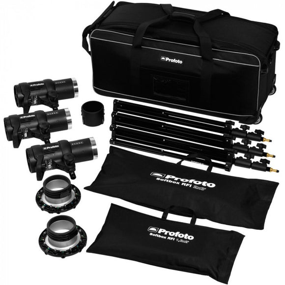 Profoto 901087 D1 Studio Kit 500/500/1000 Air UK