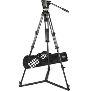 Sachtler Ace XL Tripod System with CF Legs & Ground Spreader (75mm Bowl)