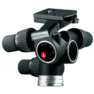 Manfrotto 405 Geared Tripod Head, Strong And Lightweight Aluminium