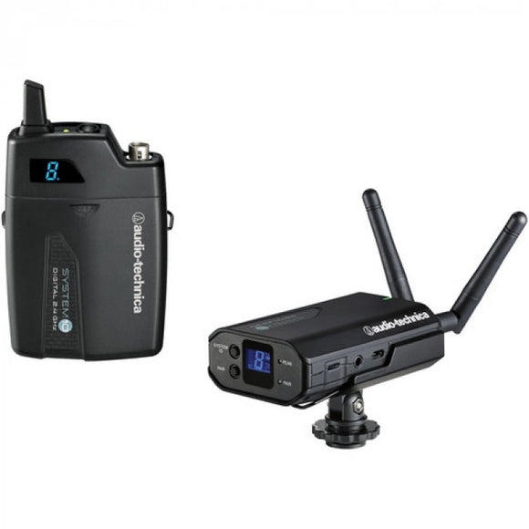 Audio-Technica ATW-1701P System 10 - Camera-Mount Digital Wireless Microphone With Audio-Technica ATR35CW