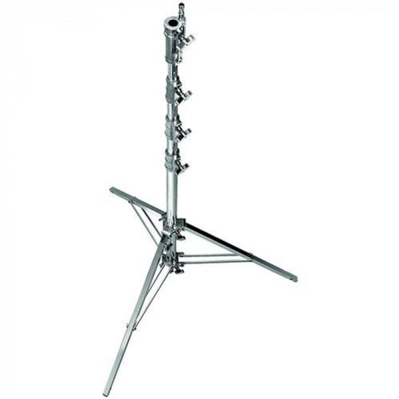Avenger Combo Steel Stand 45 With Leveling Leg (Chrome-Plated)