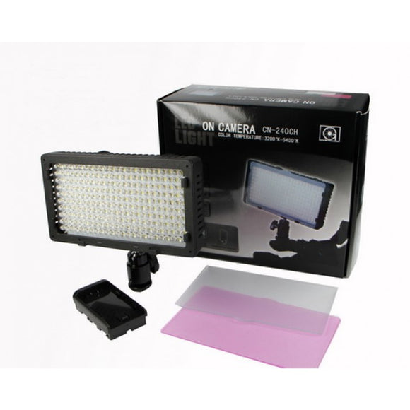 Bi-Color LED Video Light CN-240CH