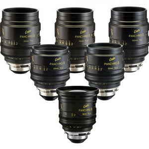 Cooke miniS4/i Cine Lens Set of Six Lenses, 18 to 100mm