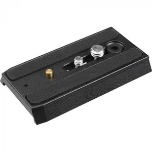 "Manfrotto 501PL Sliding Quick Release Plate With 1/4""-20 & 3/8"" Screws"