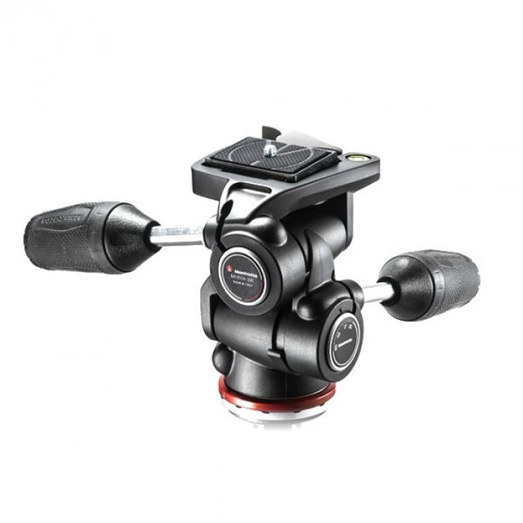 Manfrotto 3 Way Tripod Head Mark II In Adapto With Retractable Levers (MH804-3W)