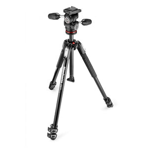 Manfrotto 190X Tripod With 804 3-Way Head And Quick Release Plate (MK190X3-3W1)