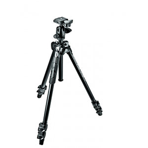 Manfrotto 290 Light Alu 3-Section Tripod Kit With 494RC2 Ball Head (MK290LTA3-BH)
