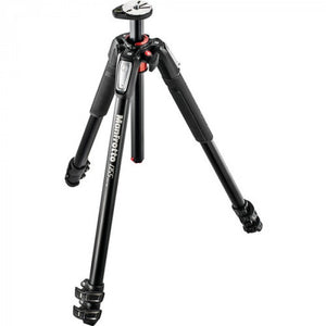 Manfrotto 055 Aluminium 3-Section Photo Tripod, With Horizontal Column (MT055XPRO3)