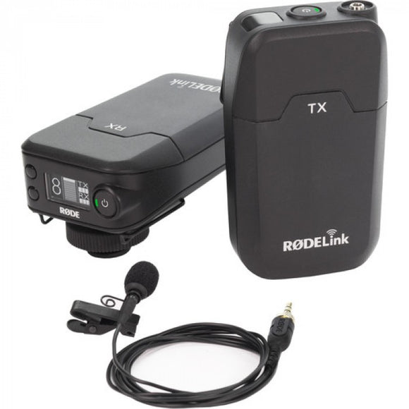 RODE Link Filmmaker Wireless Kit Consisting Of TX-Belt, RX-Cam, Lavalier, WSLAV, LAV-CLIP